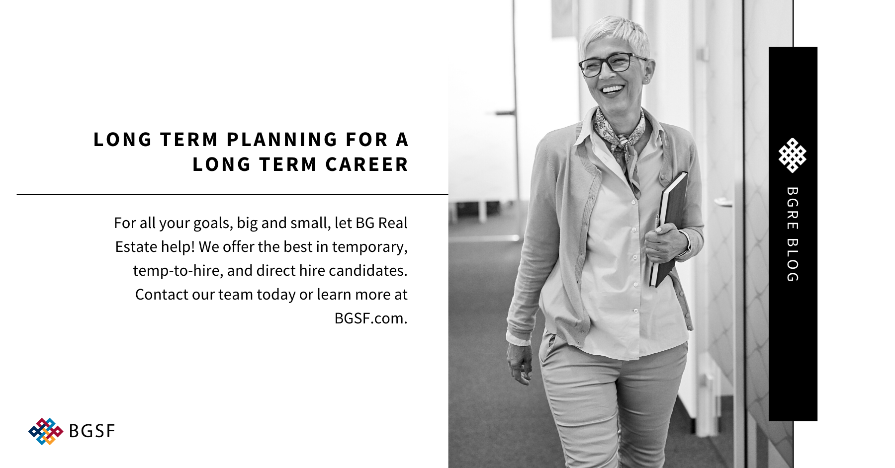 Long Term Planning for a Long Term Career