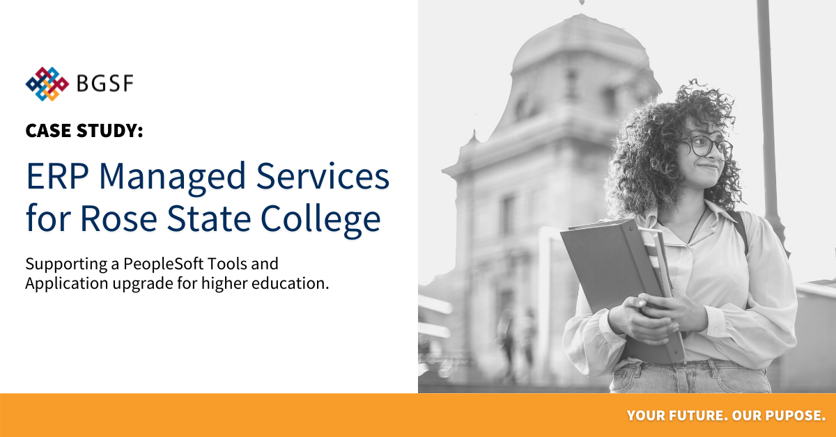 ERP Managed Services for Rose State College